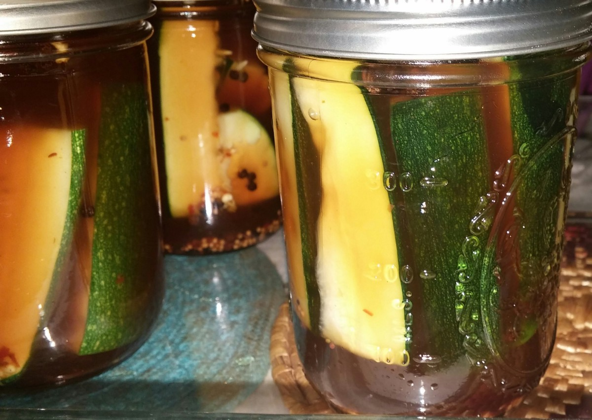 Spicy Zucchini Pickles (Paleo Friendly)